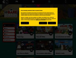 webarebears.cartoonnetwork.fr screenshot