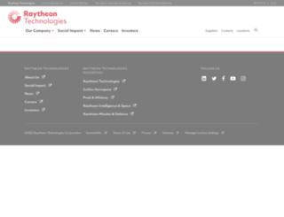 webauth-crt.raytheon.com screenshot