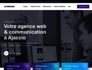 webaxis.fr screenshot