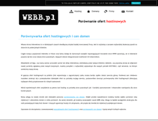 webb.pl screenshot