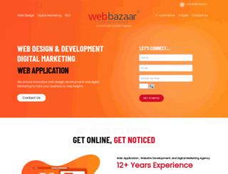 webbazaar.in screenshot