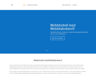 webbfabriken-webbhotell.com screenshot
