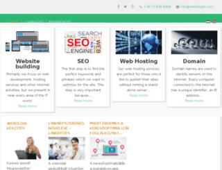 webbinger.com screenshot