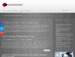 webboommedia.com.au screenshot
