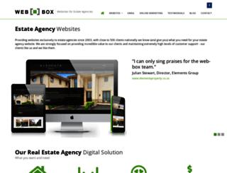 webbox.co.za screenshot