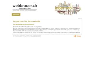webbrauer.ch screenshot