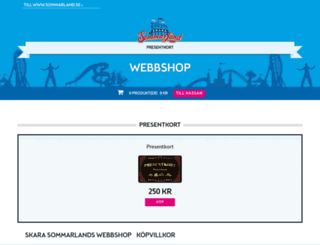 webbshop.sommarland.se screenshot