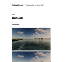 webbubbles.net screenshot