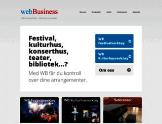 webbusiness.no screenshot