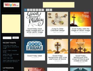 webbyarts.com screenshot