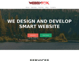 webbyfox.co.uk screenshot