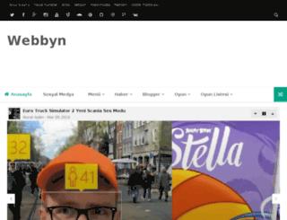 webbyn.org screenshot
