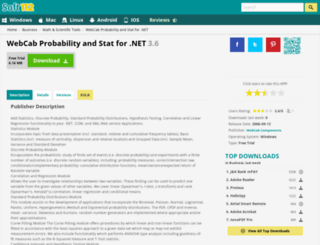 webcab-probability-and-stat-for-net.soft112.com screenshot