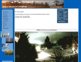 webcam-fichtelgebirge.de screenshot