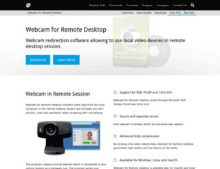 webcam-for-remote-desktop.com screenshot
