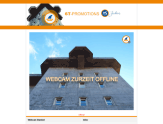 webcam.st-promotions.de screenshot