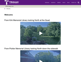 webcam.truman.edu screenshot