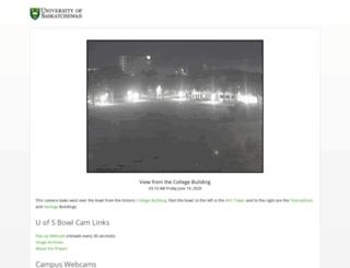 webcam.usask.ca screenshot