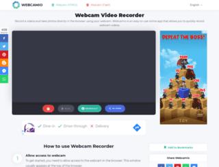 webcamio.com screenshot