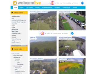 webcamlive.cz screenshot