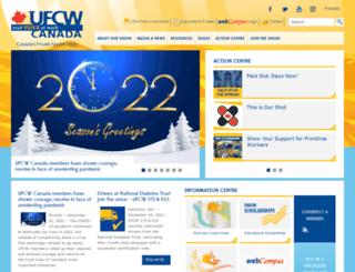 webcampus.ufcw.ca screenshot