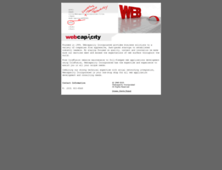 webcapacity.com screenshot