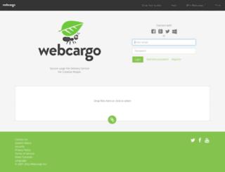 webcargo.net screenshot