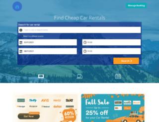 webcarhire.com screenshot