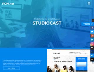 webcasts.pqm.net screenshot
