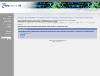 webcentre.co.nz screenshot