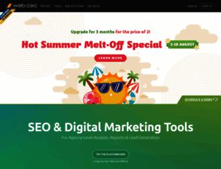 webceo.com screenshot