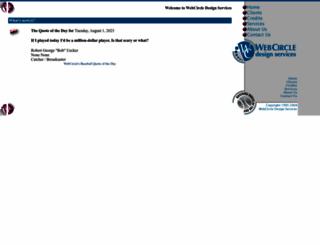 webcircle.com screenshot