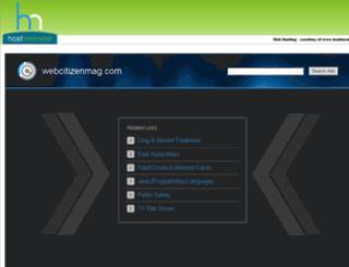 webcitizenmag.com screenshot