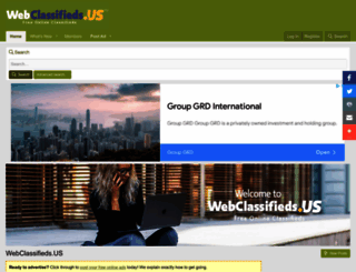 webclassifieds.us screenshot