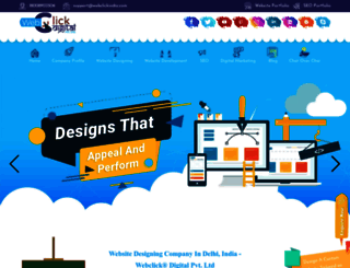 webclickindia.com screenshot