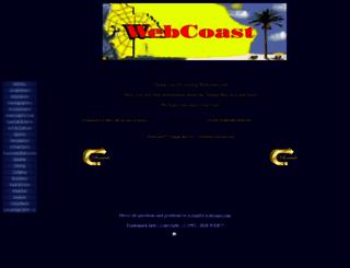 webcoast.com screenshot