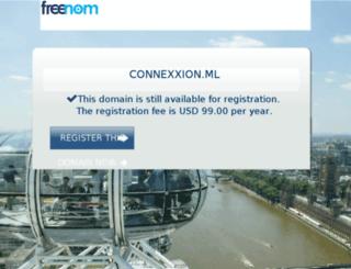 webcom.connexxion.ml screenshot