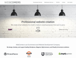 webcomers.com screenshot
