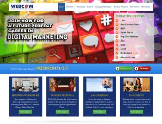 webcomtechnologiesusa.com screenshot