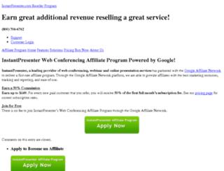 webconferencingaffiliate.com screenshot