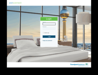 webconnect.hotelzon.com screenshot