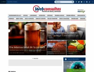 webconsultas.com screenshot