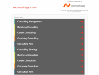 webconsultingabc.com screenshot