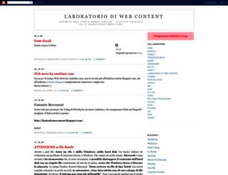 webcontentlab.blogspot.de screenshot