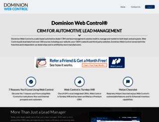 webcontrol.avv.com screenshot