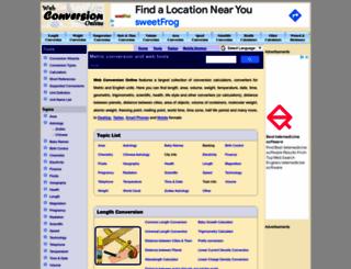 webconversiononline.com screenshot