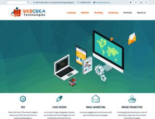 webcrea.in screenshot