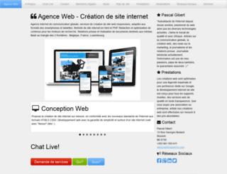 webcreationagence.com screenshot