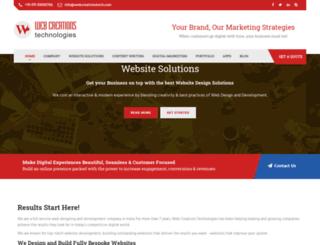 webcreationstech.com screenshot