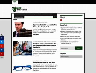 webcreationz.org screenshot